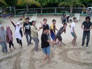 Tarian di atas pasir