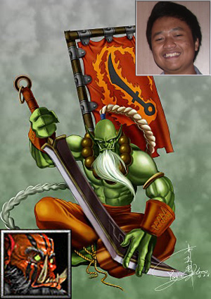Rizal & Yurnero as Juggernaut